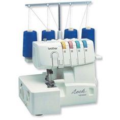 Serger 3or4 Thread Easy Lay In - Brother Sewing - 1034D