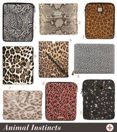 Tech Chic: Animal Print iPad Cases : Meg Biram