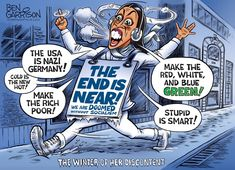The Winter Of Her Discontent by Ben Garrison Political Memes, Political Cartoons, Politics, Ben Garrison, Doomsday Machine, Seth Rich, Sutra, Green News, Dry Humor