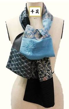 new! kimono pw scarf long type.