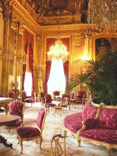 Napoleon III's apartment in the Louvre - Grand Salon