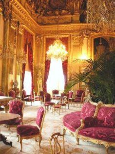 Napoleon III's apartment in the Louvre - Grand Salon