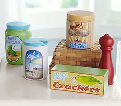 Wooden Pantry Set #pbkids (ask mommy for her discount)