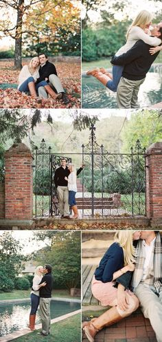 Fall Engagement Shoot || See More on Style Me Pretty: http://www.StyleMePretty.com/virginia-weddings/leesburg/2014/02/13/historic-leesburg-fall-engagement-session/  Vicki Grafton Photography