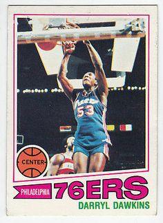 Darryl Dawkins RC 1977 78 Topps 132 Philadelphia 76ers Rookie | eBay