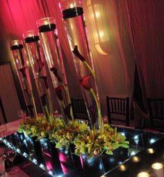 More Romantic Wedding Ideas with Eggplant Cala Lily
