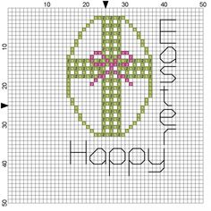 Free Cross Stitch Patterns | Free Cross Stitch Pattern- Easter Egg - Bond With Karla