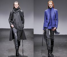 (11) Nicolas Andreas Taralis - Paris Fashion Week - Denim & Jeanswear 2013-2014 Fall Winter Womens Runways
