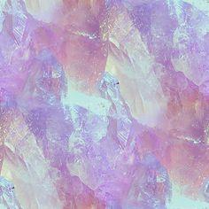 crystals, gems, minerals, pastel