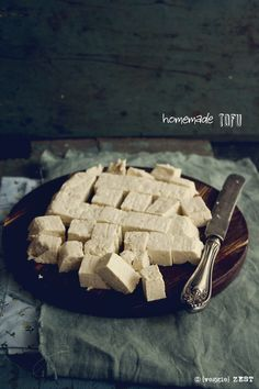 Homemade Tofu & Soy Milk I By Veggie Zest
