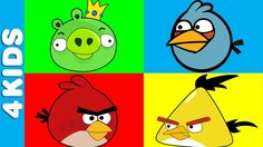 Angry Birds | Learning Colors