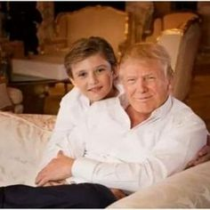 Barron Trump - watch this space - he will be a beautiful celebrity in his own right. #BarronTrump
