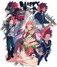 Kirishima Eijirou Boku no Hero Academia BnHA My Hero Academy Boku No Hero Academia, Kirishima My Hero Academia, My Hero Academia Memes, Hero Academia Characters, My Hero Academia Manga, Anime Characters, Kirishima Eijirou, Anime Guys, Manga Anime
