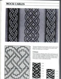 Жаккардовые узоры / Вязание спицами / Вязание для женщин спицами. Схемы