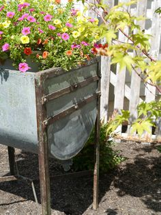 Chateau Chic Vintage Wash Tub Container