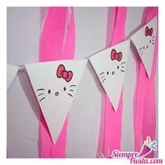 Hello Kitty Imagenes, Its My Bday, Cat Party, 5th Birthday, Birthdays, Ideas Para, Party Ideas, Craft, Crochet