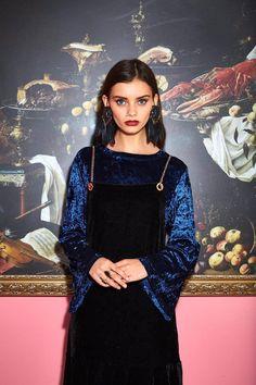 Babette clothing SA  Look book  Fall, velvet fashion
