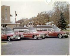 Old ambulance fleet