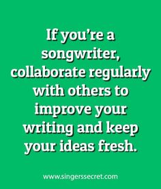 Songwriting tips. Get free songwriting tutorials here: www.singerssecret.com
