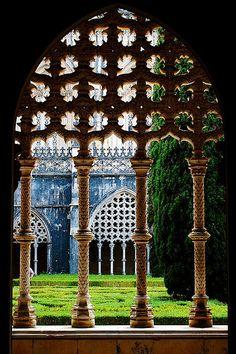 世界遺産 バターリャの修道院 ポルトガルの絶景写真画像 ポルトガル