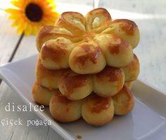 peynirli çiçek poğaça