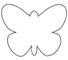 Butterfly stencil I enlarged it traced it onto scrapbook paper