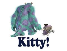 Monsters Inc. Kitty! Sully and Boo ♡ Disney ♡
