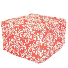I pinned this French Quarter Ottoman in Red from the Perfect Poufs & Elegant Ottomans event at Joss and Main!