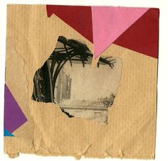 Tom Moglu: Daily Collage August 25 - 93x93mm
