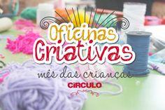 Artesanato com amor...by Lu Guimarães: Oficinas Criativas Círculo