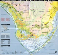 Florida Everglades Park Map - Government support our Natural Resources at TopGovernmentGrants.com