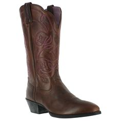 Women's Heritage Western Boots  @bootbarnMy sister has these boots & I love them @Ariat Boots  #pin2win www.pinterest.com/bootbarn