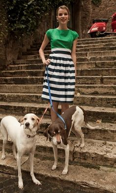 The Simply Luxurious Life: Style Inspiration: Flats, Scarves & Classic Chic