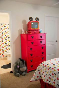Disney guest room... no they can have my room and I'll take this one