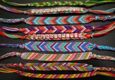 how to make friendship  bracelet. tween library craft. tween craft. bracelet craft.