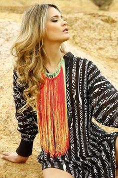 Oasis2 Maxi collar Spring Alejandra Valdivieso