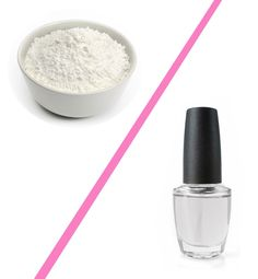 13 Extraordinary Uses for Ordinary Things: Mix a little cornstarch with your clear nail polish to get the latest trendy matte finish on your fingernails without buying an entire bottle.