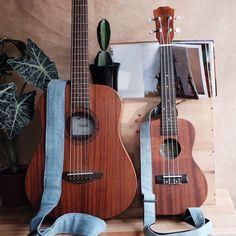 Light Blue Denim Collections handcraft by Qilin Guitar Photos, Guitar Photography, Guitar Design, Guitar Lessons, Ukulele, Musical Instruments, Blue Denim, Light Blue, Guitar Straps