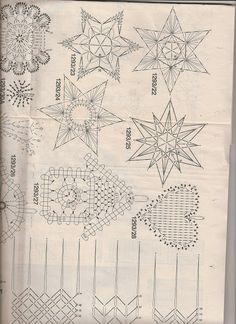 From Annacraft - Lada - Picasa-Webalben Weaving Patterns, Lace Patterns, Lace Making, Bobbin Lace, Vintage World Maps, Album, Christmas, Picasa, Christmas Ornaments