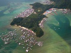 Dangerous Gaya Island Borneo, Archipelago, Philippines, Tropical, Earth, River, Island, Places, Outdoor