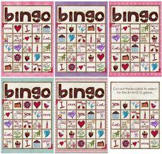 FREE Valentine Bingo Printable & More FREE Valentines