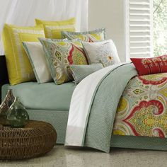 Echo Jaipur Bedding By Echo Bedding, Echo Jaipur Bedding by Echo; Comforters, Comforter Sets, Bed In A Bag, Bedspreads, Quilts & Duvets: The Home Decorating Company