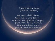 I mari della luna di Gianni Rodari
