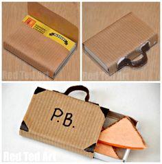 Paddington Craft – suitcase & marmalade sandwiches