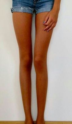 Long legs and thigh gap.... :(