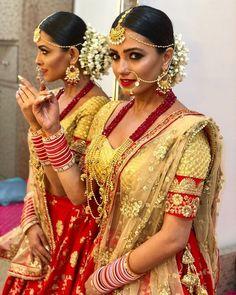 [SNEAK PEEK] Naagin Anita Hassanandanis bridal look will make you wonder whom is she getting married to? Royal Indian Wedding, Indian Bridal, Indian Goddess, Desi Bride, Punjabi Bride, Indian Tv Actress, Bollywood Celebrities, Indian Designer Wear, Bridal Lehenga