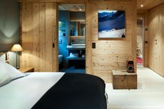 chalet in Gstaad by Ardesia Design London