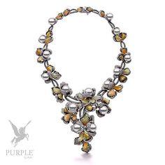 Feel the beauty with this 11-14mm South Sea pearls with 38.71cts diamonds & 88.82cts opals in 18k black and white gold by @yokolondonpearls #purplebyanki #diamonds #luxury #loveit #jewelry #jewelrygram #jewelrydesigner #love #jewelrydesign #finejewelry #luxurylifestyle #instagood #follow #instadaily #lovely #me #beautiful #loveofmylife #dubai #dubaifashion #dubailife #mydubai #SouthSea #Pearls #opals #BlackAndWhiteGold #necklace