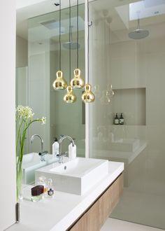 Bathroom Lights Melbourne 1u recessed profile systemtal used in modern bathroom - shower