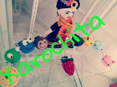 Keychain by xarochita, amigurumi, crochet
